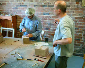 Stone Carving Day at The Potters Barn